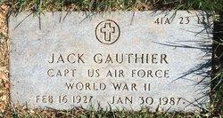 Jack Gauthier