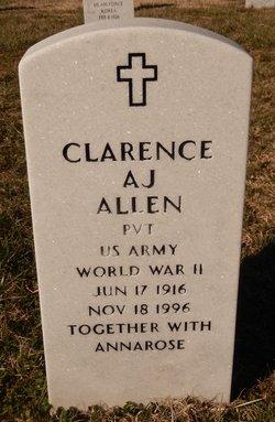 Clarence A J Allen