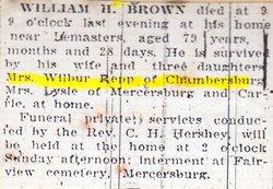 William Harrison Brown