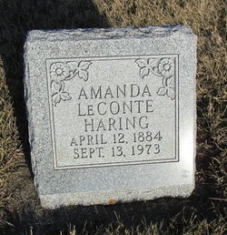 Amanda <I>LeConte</I> Haring