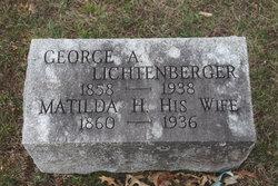 Matilda H. <I>Elliott</I> Lichtenberger