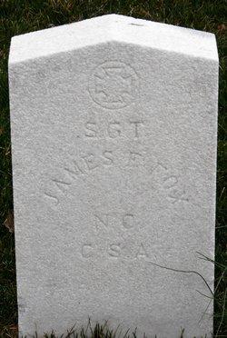 Sgt James F Fox