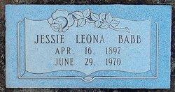 Jessie Leona <I>Wallace</I> Babb