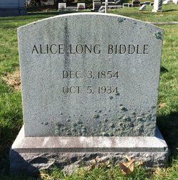 Alice <I>Long</I> Biddle