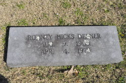 Rodney Hicks Deener