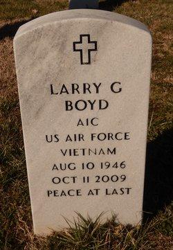 Larry G Boyd
