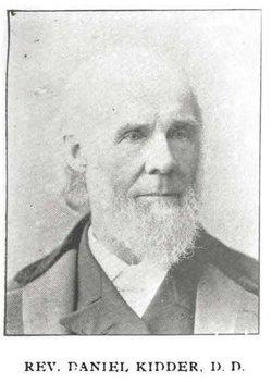 Rev Daniel Parish Kidder