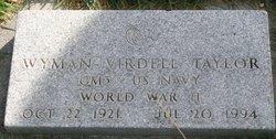 Wyman Virdell Taylor