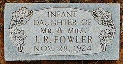 Infant Daughter Fowler
