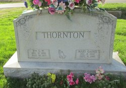 Mary <I>Gaines</I> Thornton