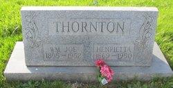 Henrietta <I>Garrett</I> Thornton