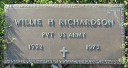 Willie H Richardson