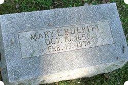 Mary Evaline <I>Richardson</I> Bulpitt