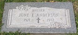 June F Anderson