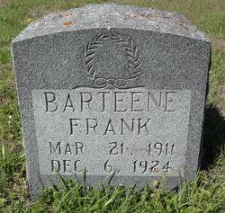 Annie Barteene Frank