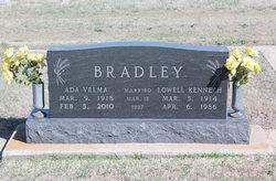 Ada Velma <I>Phillips</I> Bradley