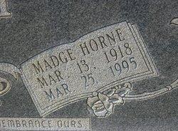 Madge <I>Horne</I> Key