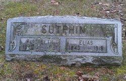 Elizabeth Prudence <I>Jackson</I> Sutphin