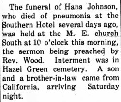 Hans Johnson