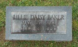 Lillie Daisy <I>Masterson</I> Baker