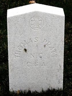 Pvt Thomas Pratt