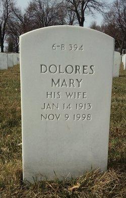 Dolores Mary <I>Blair</I> Aho