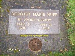 Dorothy Marie <I>Stone</I> Huff