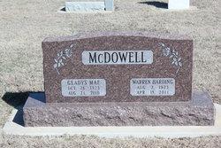 Maj Warren Harding McDowell