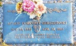 Marie Dorothy <I>Hoffman</I> Gerszewski