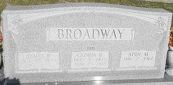 """Ida Gloria """"GLO"""" <I>Reeves</I> Broadway"""