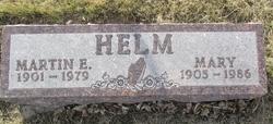 Martin E Helm