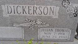Julian Thomas Dickerson