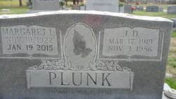 Margaret Lucille <I>Plunk</I> Plunk