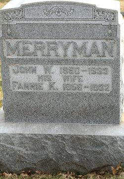 Fannie K. <I>Green</I> Merryman