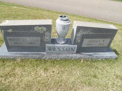 Louella <I>Clayton</I> Wesson