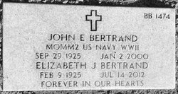 John E Bertrand