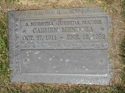 Carmen <I>Vasquez</I> Mendoza