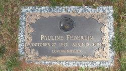 Pauline Federlin