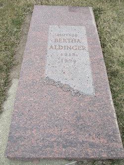 Bertha <I>Hintz</I> Aldinger