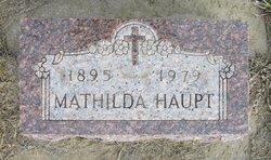 Matilda <I>Hauck</I> Haupt