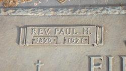 Rev Paul Henry Fields