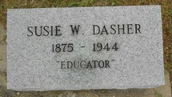 Susie <I>White</I> Dasher