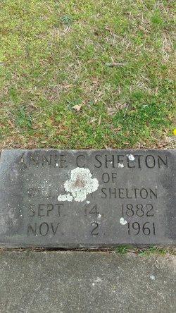Annie Catherine <I>Baxter</I> Shelton