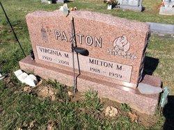 Milton McDill Paxton