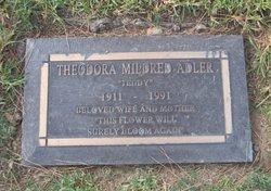 "Theodora Mildred ""Teddy"" <I>Buckles</I> Adler"