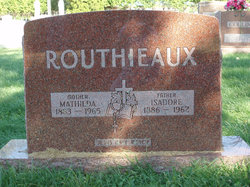 Isadore Routhieaux