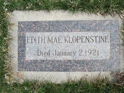 Edith Mae Klopenstine
