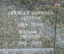 William Stanislaus Preston