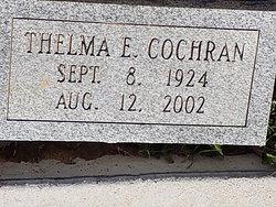Thelma E. Cochran