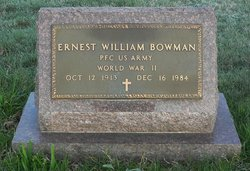 Ernest William Bowman